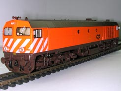 HO European Diesel Locomotive