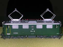 HO European Electrtic Locomotive
