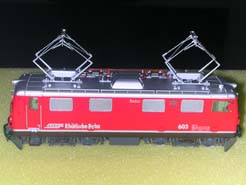 HO European Electric Locomotive