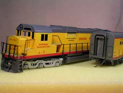 HO US Diesel Locomotive